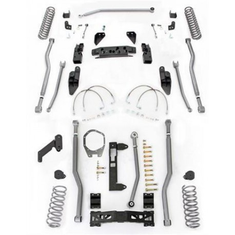"3,5"" Long Arm Lift Kit 4 Link Front / 3 Link Rear RUBICON EXPRESS - Jeep Wrangler JK 2 door"