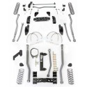"4,5"" Long Arm Lift Kit  4 Link Front / 3 Link Rear RUBICON EXPRESS - Jeep Wrangler JK 2 door"