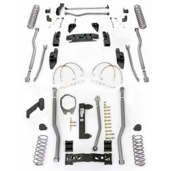 "5,5"" Long Arm Lift Kit 4-Link Front / 3-Link Rear  RUBICON EXPRESS - Jeep Wrangler JK 2 door"