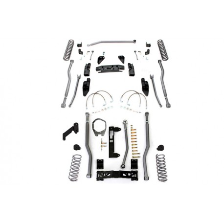 "4,5"" Long Arm Lift Kit  RUBICON EXPRESS - Jeep Wrangler JK 4 door"
