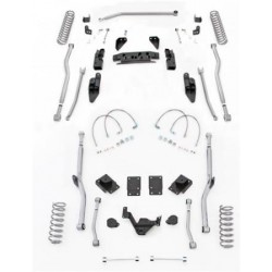 "3,5"" Extreme Duty Long Arm Lift Kit 4 Link Front / Radius Rear RUBICON EXPRESS - Jeep Wrangler JK 2 door"