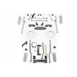 "4,5"" Extreme Duty Long Arm Lift Kit Radius Front / 3 Link Rear RUBICON EXPRESS - Jeep Wrangler JK 2 door"