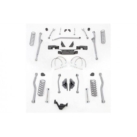 "3,5"" Extreme Duty Long Arm Lift Kit Radius Front / 4 Link Rear RUBICON EXPRESS - Jeep Wrangler JK 2 door"