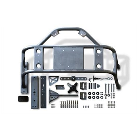 Body Mounted Tire Carrier POISON SPYDER - Jeep Wrangler JK