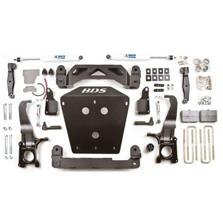 "7""  Lift Kit BDS - Toyota Tundra 4WD 07-15"