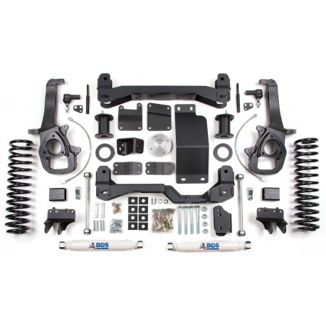 "6""  Lift Kit  BDS - Dodge Ram 1500 4WD 13-16"
