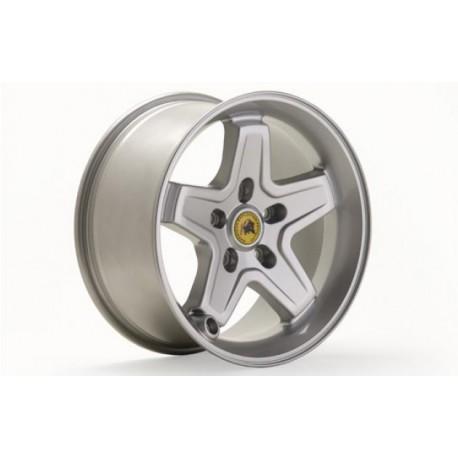 Alloy wheel 8.5x17 5x127 ET+10 - AEV Pintler Silver Jeep Wrangler JK