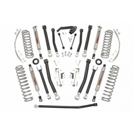 "4"" Rough Country X Series Lift Kit - Jeep Wrangler JK 2 drzwi"