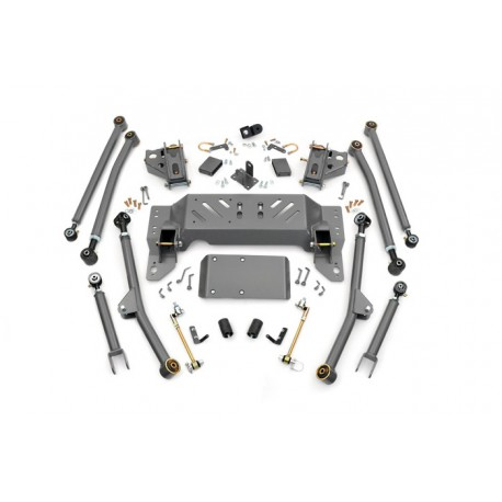 """4"""" Long Arm Rough Country Upgrade Lift Kit - Jeep Grand Cherokee ZJ"""