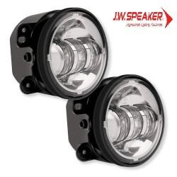 Halogeny przednie JW Speaker 6145 Chrom - Jeep Wrangler JK