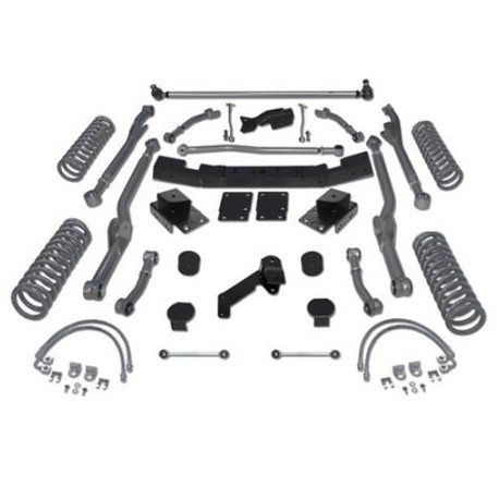 "4,5"" Extreme Duty Long Arm Lift Kit RUBICON EXPRESS - Jeep Wrangler JK 2 drzwi"
