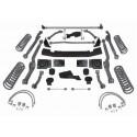 "4,5"" Extreme Duty Long Arm Lift Kit RUBICON EXPRESS - Jeep Wrangler JK 4 drzwi"