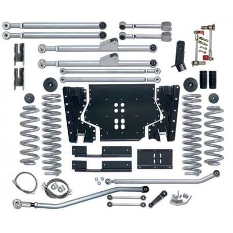 4.5'' Extreme Duty Long Arm Lift Kit Rubicon Express - Jeep Wrangler LJ 04-06