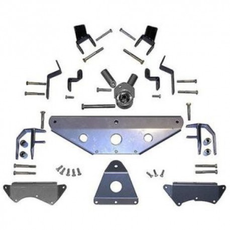 Extreme Duty Long Arm Tri-Link Upgrade Lift Kit Rubicon Express - Jeep Wrangler TJ 03-06