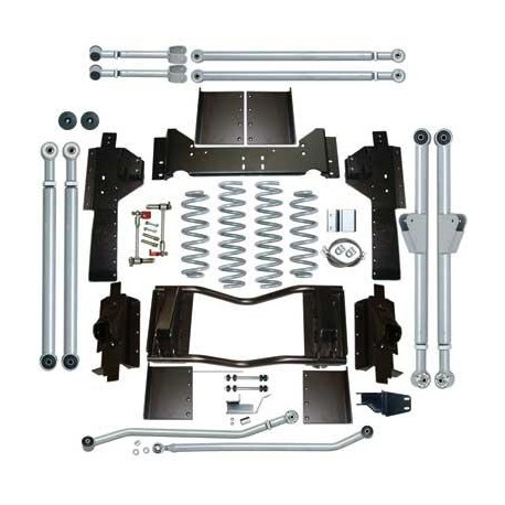 4.5'' Extreme-Duty Long Arm Lift Kit Rubicon Express - Jeep Grand Cherokee ZJ