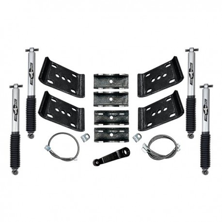"5.5"" Spring Over Lift Kit Mono Tube Rubicon Express - Jeep Wrangler YJ"