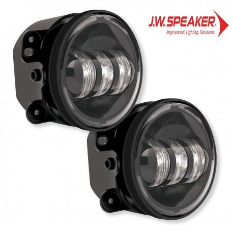 Halogeny przednie JW Speaker 6145 Czarne - Jeep Wrangler JK