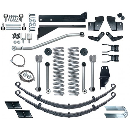 "5,5"" Extreme Duty Short Arm Lift Kit Rubicon Express - Jeep Cherokee XJ"