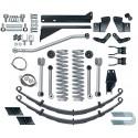 "5,5"" Extreme Duty Short Arm Lift Kit Rubicon Express - Jeep Cherokee XJ"
