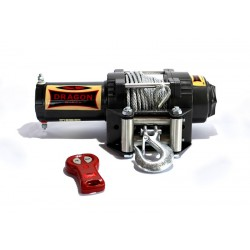 ATV naviják Dragon Winch Highlander DWH 3500 HD, ocelové lano.