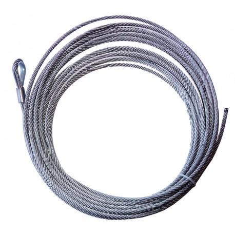 Ocelové lano 26m 9,5mm