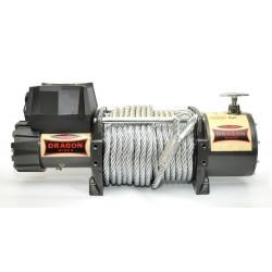 Naviják Dragon Winch Truck DWT 18000 HD, 24V, ocelové lano.
