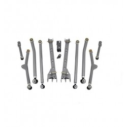 """4"""" - 6'' Long Arm Rough Country Upgrade Lift Kit - Jeep Wrangler TJ"""