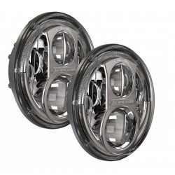 Reflektory przednie LED JW Speaker 8700 Evolution J CHROM - Jeep Wrangler JK