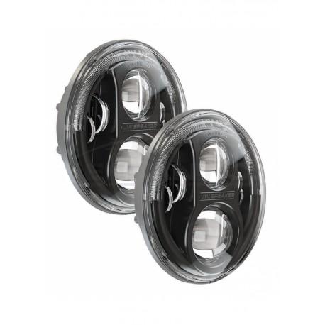 Reflektory przednie LED JW Speaker 8700 Evolution J Czarne - Jeep Wrangler JK