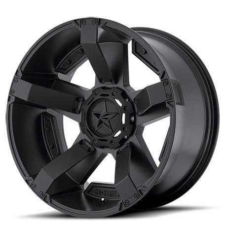 "Felga aluminiowa 9x18"" 5x139,7/5x150 ET0 XD 811 Rockstar II Czarny - Dodge Ram 1500"