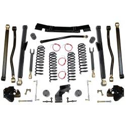 """4,5"""" CLAYTON OFF ROAD Long Arm Lift Kit zawieszenie - Jeep Wrangler JK 4 drzwi"""