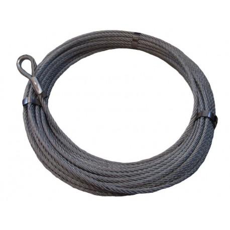 Navijákové lano SEAL IWRC 12 mm s očnicí