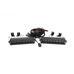 Listwa LED CREE 20 cm Czarny Panel Rough Country (para)