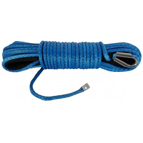 Syntetické lano 26 m 10 mm (DYNEEMA), modré
