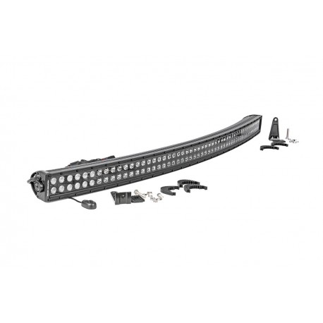 Listwa LED CREE 127cm Podwójna Zakrzywiona Czarny Panel Rough Country