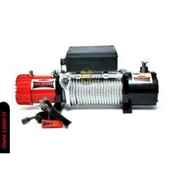 Naviják Dragon Winch Maverick DWM 13000 ST, 24V, ocelové lano.