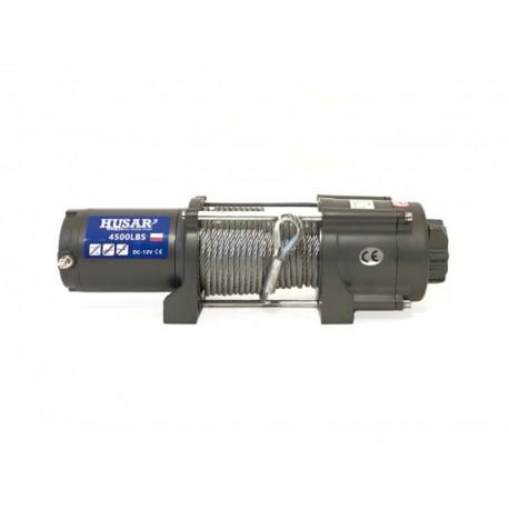 Naviják Husarwinch BST S 4500, 12V, ocelové lano