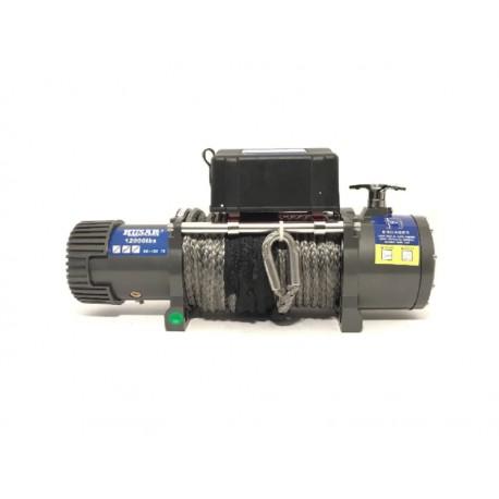 Naviják Husarwinch BST 12000, 12V, syntetické lano