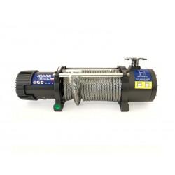 Naviják Husarwinch BST 13000, 12V, ocelové lano