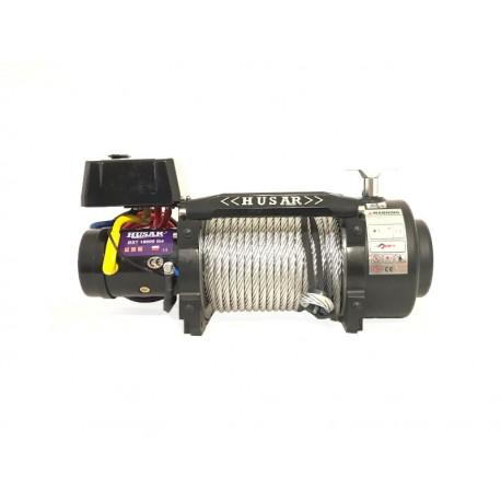 Naviják Husarwinch BST S 18000, 24V, ocelové lano
