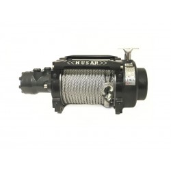 Hydraulický naviják Husarwinch BST Industrial 18000, 24V, ocelové lano