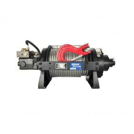 Hydraulický naviják Husarwinch BST Industrial 20000, 24V, ocelové lano
