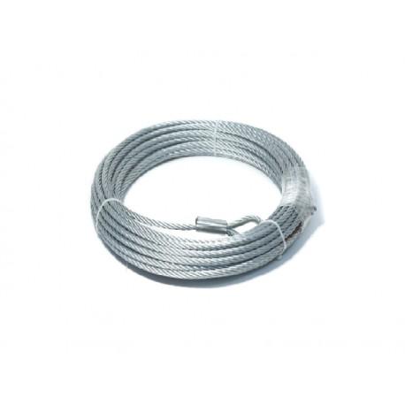 Ocelové lano 25 m 10 mm Husarwinch