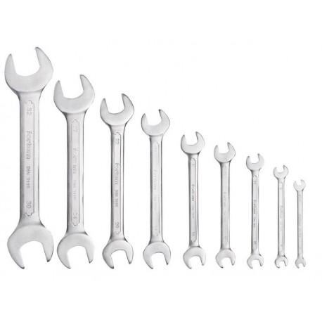 FORTUM klíče ploché, sada 9ks, 6-32mm (4730101)