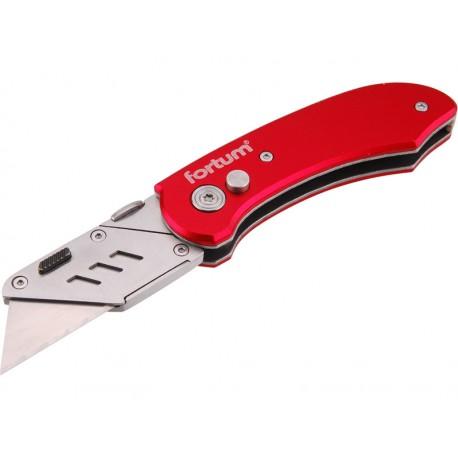 FORTUM nůž zavírací s výměnným břitem, 19mm (4780030)