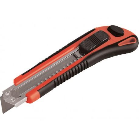 Extol PREMIUM nůž ulamovací s kovovou výztuhou, 18mm (80044)