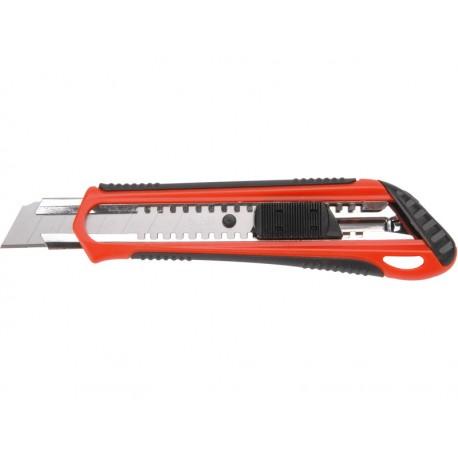 Extol PREMIUM nůž ulamovací s kovovou výztuhou, 18mm (8855022)