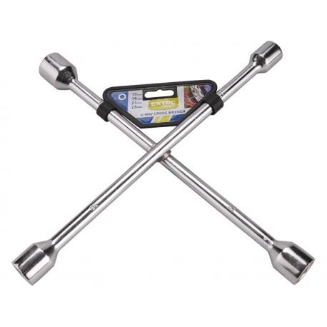 Extol CRAFT klíč křížový na kola, 17-19-21-23mm (6650)