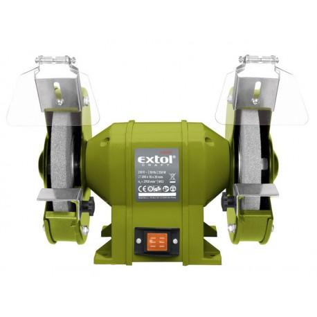Extol CRAFT bruska stolní dvoukotoučová, 350W (410130)