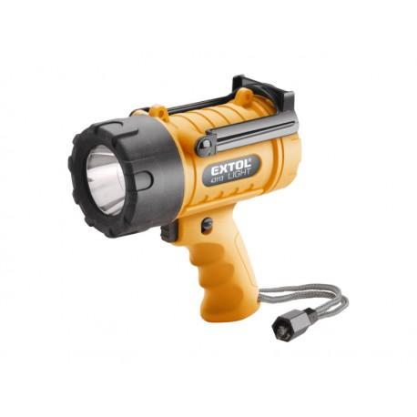 Extol LIGHT svítilna 300lm CREE XPG LED, vodotěsná, 5W (43113)